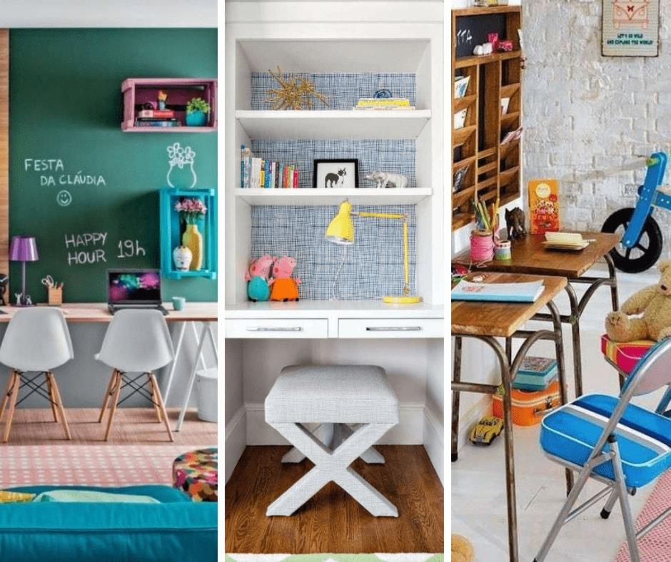 Come organizzare l'angolo studio nella cameretta dei ragazzi