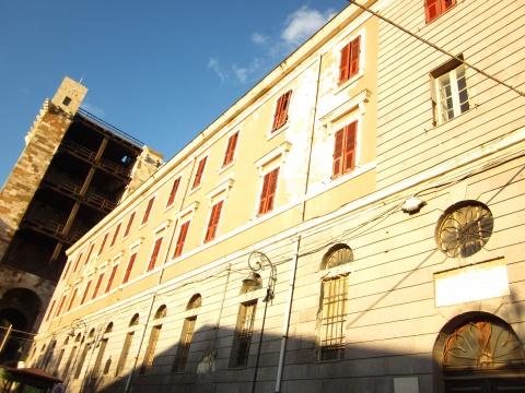 Palazzo del Conservatorio delle Figlie della Divina Provvidenza Cagliari il nostro lavoro di restauro monumentale